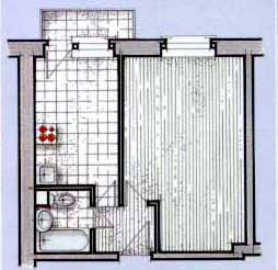 Отделка и дизайн однокомнатных квартир