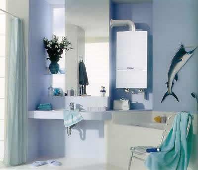 Морская тематика в интерьере ваной комнаты.