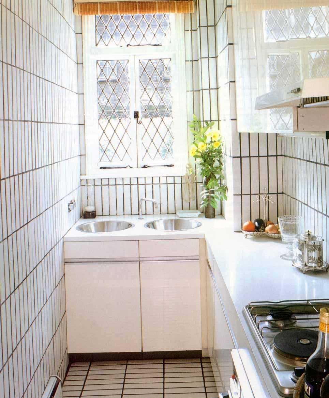 Кухня в две линии – простая и