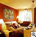 Украшение интерьера в африканском стиле будоражит воображение...