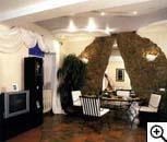 ...в создании интерьера в африканском стиле, - деревянная.