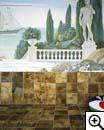 Художественная роспись в интерьере, фреска, витраж.