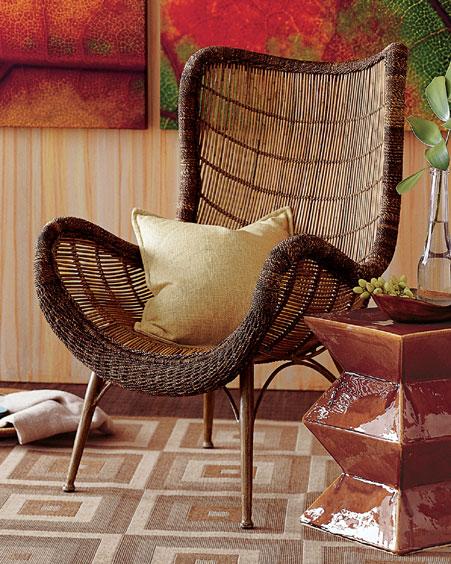 Плетеная мебель своими руками из каната 2