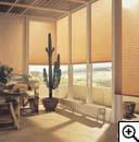 При создании интерьера много возможностей дают.  Они внешне чем-то напоминают. шторы-плиссе. жалюзи...